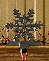 Amazon.com: Park Designs Snowflake White Stocking Holder (22-855A): Home &  Kitchen