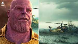 Thanos Copter Easter Egg in Loki ...