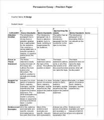 an example of a persuasive essay persuasive essay template 7 free sample example format free