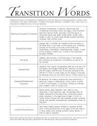 Transition Essay Examples Transitional Words For Argumentative Essay Keni