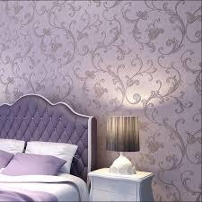 Purple Wallpaper Bedroom Online Get Cheap Purple Black Wallpaper Aliexpresscom Alibaba