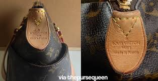 louis vuitton used bags. authentic vs replica louis vuitton totally fake real lv comparison tag used bags a
