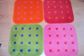 ikea chair rug made from bathroom mats project c365 i