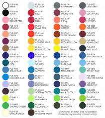 Thermoflex Plus Regular Colors