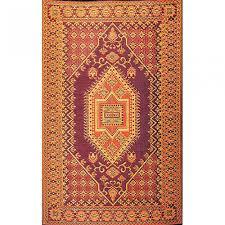 recycled plastic outdoor rugs mats dfohome oriental turkish rust outdoor mat
