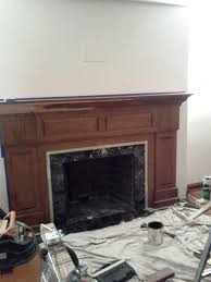 pics photos how to build a fireplace mantel