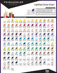 Prismacolor Pencil Chart Pdf Prismacolor Colored Pencil Swatch Chart Www