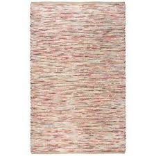 cavender red 5 ft x 7 ft 6 in striped area rug
