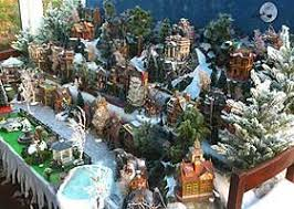 Christmas Tree Village Display Stands Building Display Stands Christmas Village Displays 24