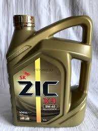 Обзор от покупателя на <b>Моторное масло ZIC</b> X9 5W-40 4 л ...