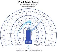 Frank Erwin Center Tickets Seating Charts And Schedule In