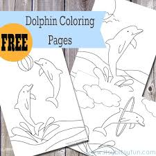 You can use our amazing online tool to color and edit the following dolphin coloring pages. Free Printable Dolphin Coloring Pages Itsybitsyfun Com