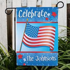 personalized celebration patriotic garden flag patriotic gifts