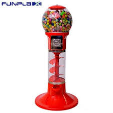 Candy Vending Machines For Sale Fascinating Spiral Red Gashapon Capsule Toys Candy Vending Machines For Sale