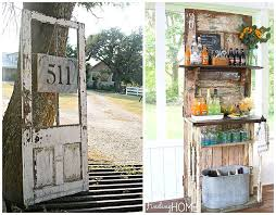 add a few shelves for great display e even a potting bench outdoors