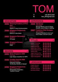 Creative Resume Ideas Graphic Design Resume For Study