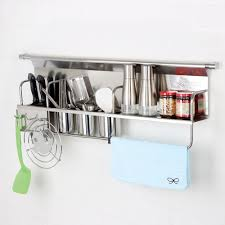 Kitchen Wall Storage Kitchen Wall Storage Organiser Rack Wall Spice Rack 900mm