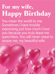 Beautiful Quotes For Wife Birthday