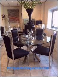modern clear gl dining table and 4 chairs unique 63 lovely round gl dining table with