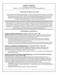 Payroll Manager Resume Sample Payroll Manager Resume Valid Sample Resume Mechanical Maintenance