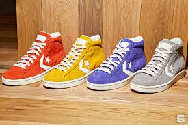 converse pro leather vintage suede high top