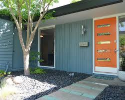 mid century modern front doorsPhoto Gallery Website Mid Century Modern Exterior Doors  Home
