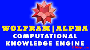wolfram alpha math equation solver comtional knowledge engine