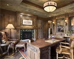 rustic office. Homey CountryRustic Home Office By Jerry Locati Rustic