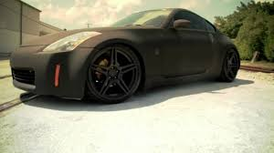 nissan 350z matte black. Brilliant Matte Matte Black Nissan 350z On 20 In U