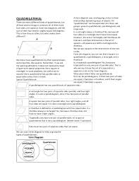 Venn Diagram Quadrilaterals Quadrilateral