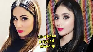 heena khan inspired makeup