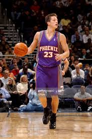 Casey Jacobson of the Phoenix Suns handles the ball against the... News  Photo - Getty Images