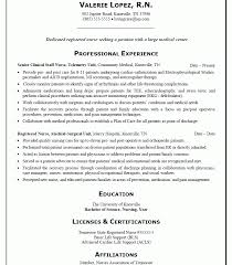 Example Of A Nursing Resume Stunning Nursing Resume Example Unique Sample New Graduate Gallery Creawizard
