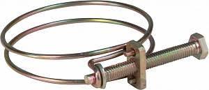 <b>Хомут обжимной проволочный</b>, инструм.сталь <b>24-28</b> мм ХВАТ ...