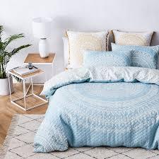 Mercer + Reid - Mandala Quilted Quilt Cover Blue - Bedroom Quilt ... & Save Adamdwight.com