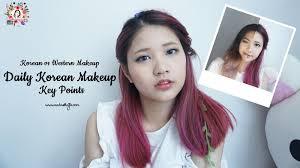 violet brush x blackxugar korean vs western makeup daily korean makeup key points