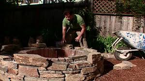 outdoor stone fire pit. Outdoor Stone Fire Pit