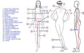 Waist To Knee Measurement Chart Measurement Guide