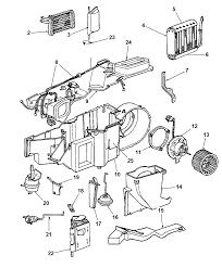 Hevac unit for 1999 dodge dakota mopar parts giant 1999 dodge dakota parts diagram