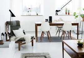 Scandinavian Design Living Room Scandinavian Living Room Design Black Polished Wooden Wall Corner