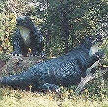 Commissioned in 1852 to accompany the crystal palace after its move from the great exhibition in. Crystal Palace Dinosaurs Wikipedia
