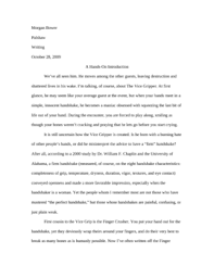 an example of an expository essay co an