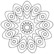 Square Geometric Patterns Coloring Pages Islamic Color Colouring Lmj