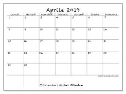 Calendario Aprile 2019 77ld Michel Zbinden It