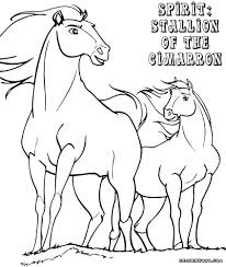 astonishing new coloring pages for girls spirit horse coloring pages