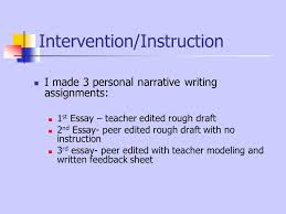 peer editing debbie sponaugle th grade language arts south davie  8 intervention instruction