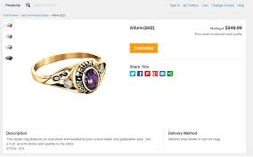 Jostens Class Ring Size Chart Create The Perfect Class Ring By Jostens Ringspiration