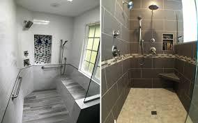 modern bathroom shower storage fresh shower storage options devine bath portland or and luxury