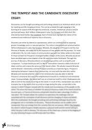 the tempest and related discovery essay year hsc english  the tempest and related discovery essay