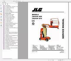 JLG Lift Operatorsและส่วนคู่มือ 2020 Full PDF 30GB|Software